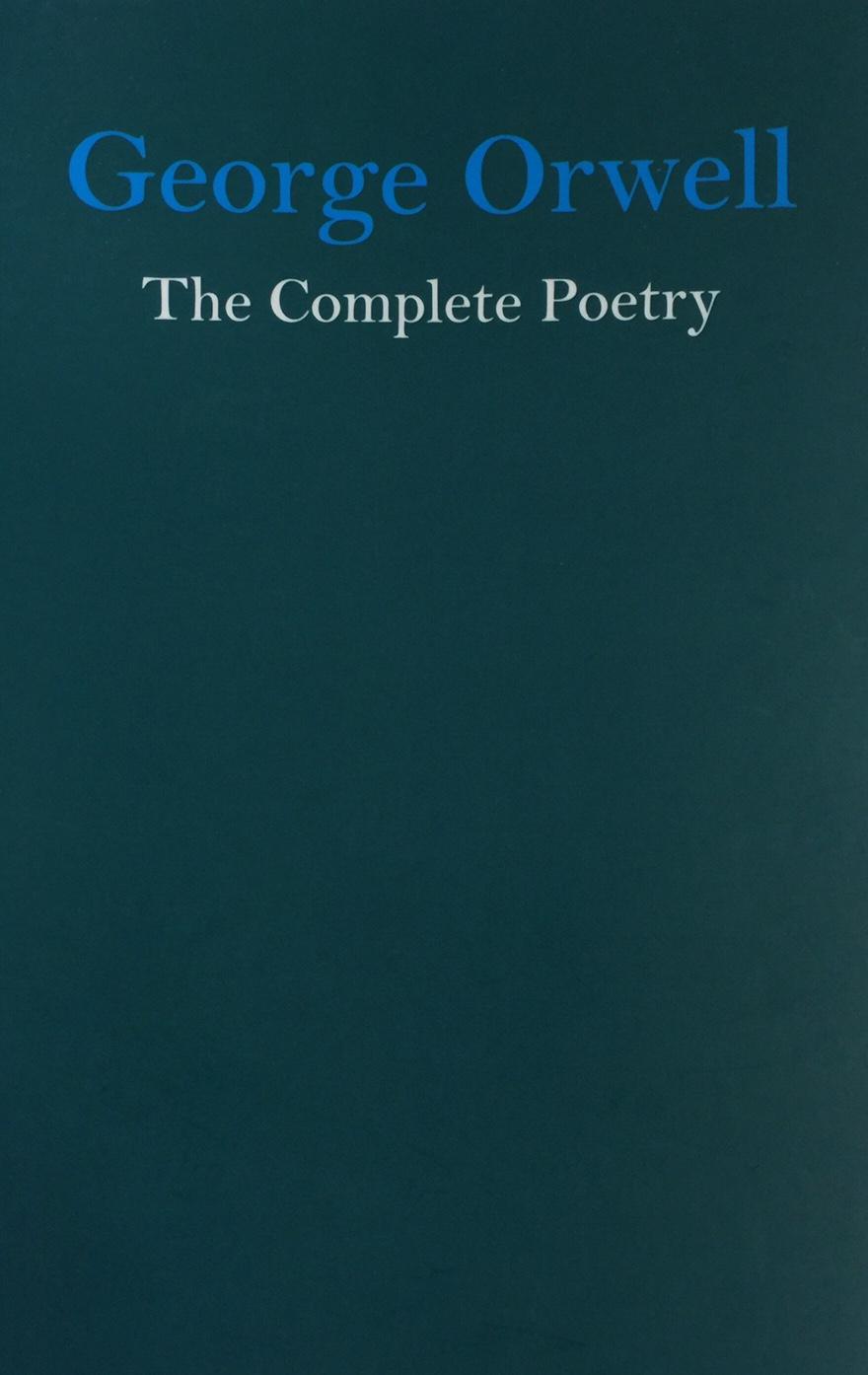 George Orwell Poetry