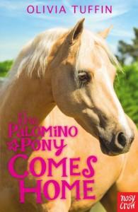 palomino pony comes home