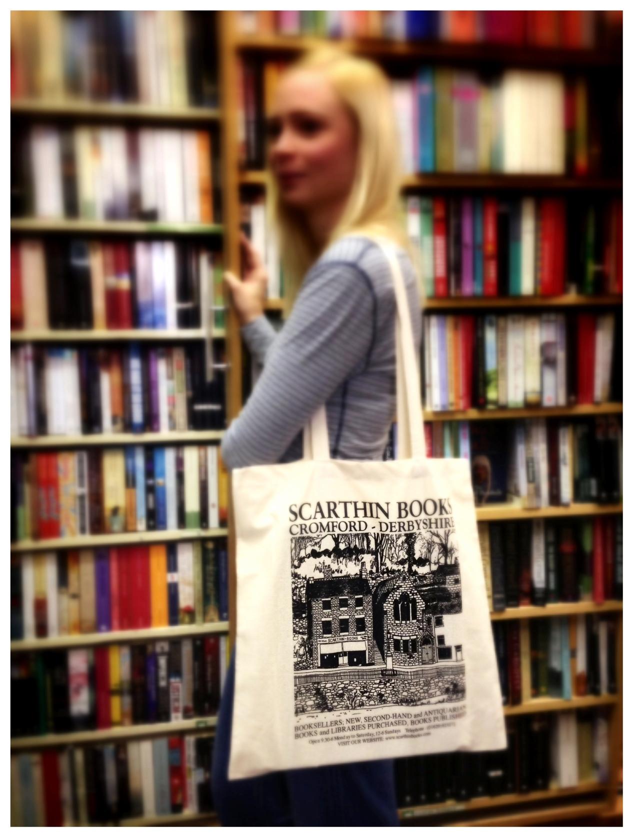 Scarthin Books Cotton Book Bag